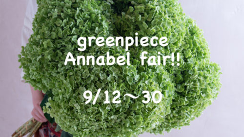 greenpiece Annabel fair!!